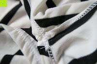 Nähte: Yidarton Damen Rundhals Gestreift Stretch Basic T-Shirt Oberteile Langarmshirt Loose Bluse Tops
