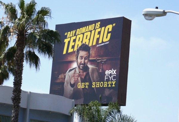Get Shorty Ray Romano 2018 Emmy FYC billboard