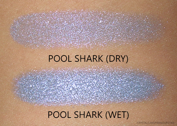 NARS Under Cover Summer Collection Dual Intensity Lavender Periwinkle Eyeshadow Pool Shark Swatches