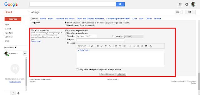 Gmail Autoresponder