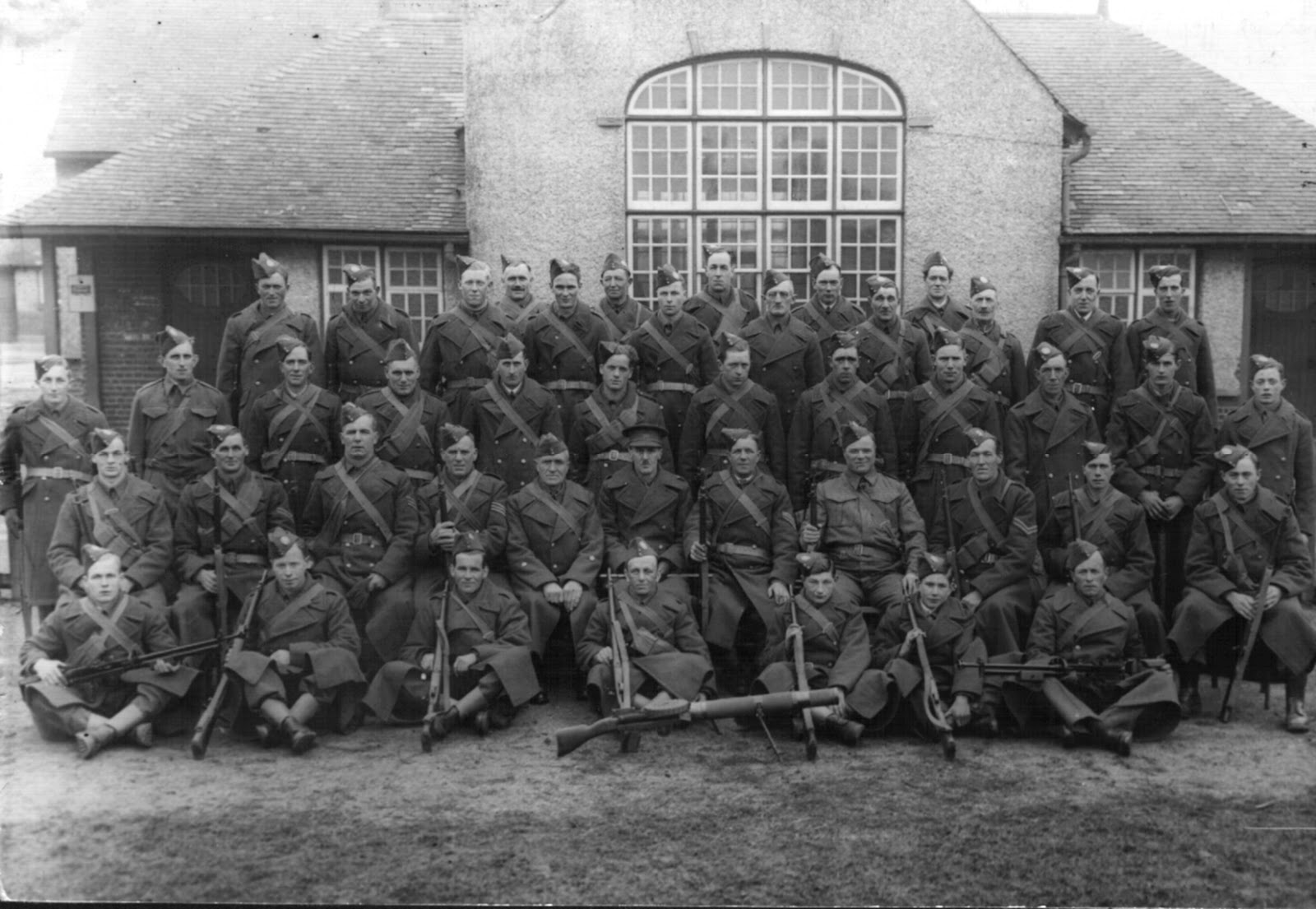 Ramsey Mereside Home Guard - 1941 (From Ramsey & District website)