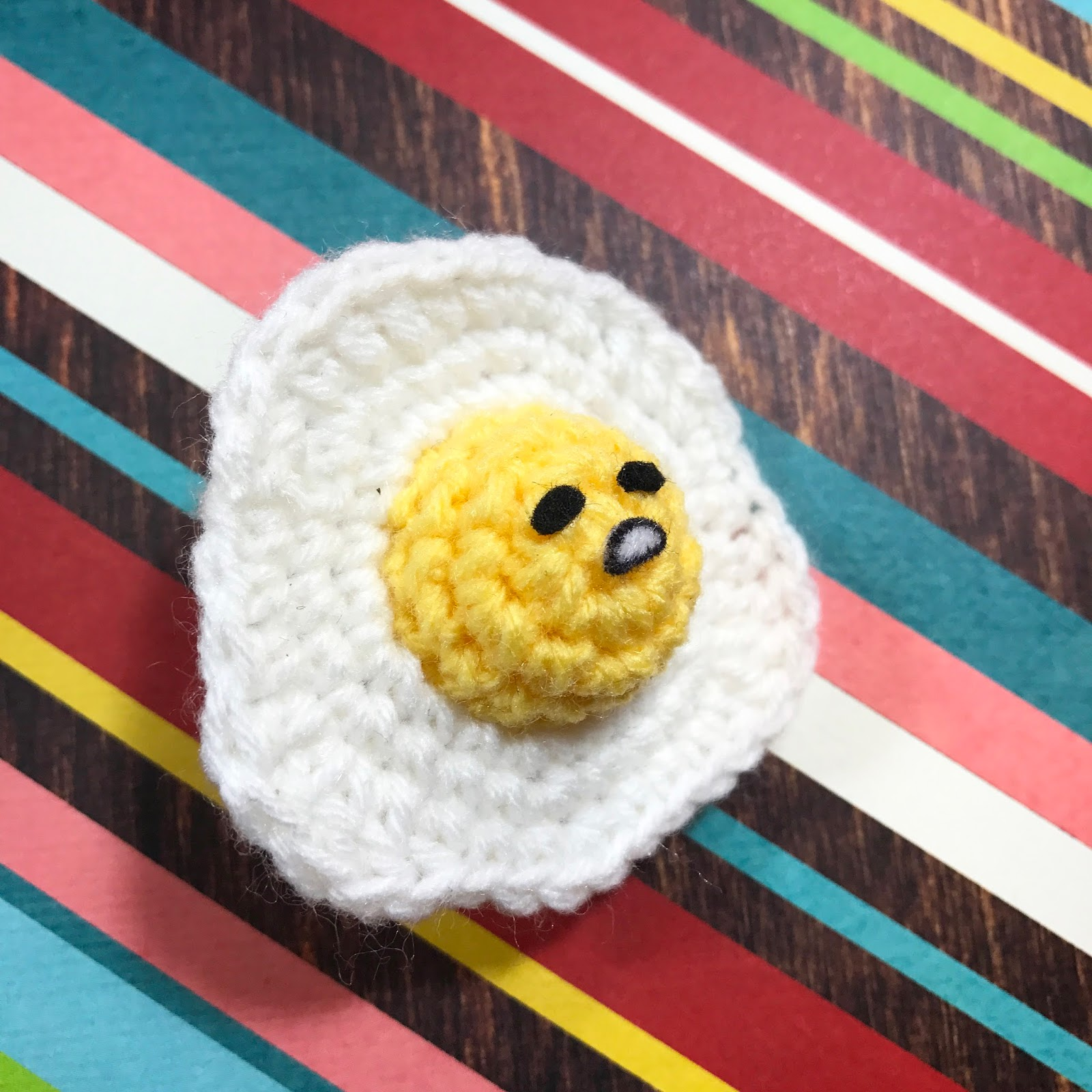 stuff susie made: Gudetama - Sunny-side Up Crochet Pattern | 1600x1600