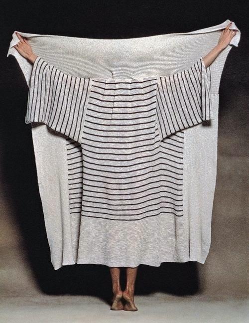 patrón gratis: abrigo con un rectángulo de tela