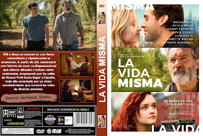 CARATULA LA VIDA MISMA - LIFE ITSELF - 2018 - [COVER-DVD]