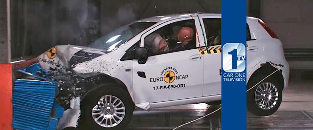 Fiat Punto y el crash test de la Euro NCAP
