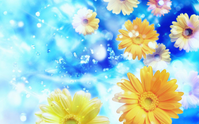 wallpaper: Flower Wallpapers - Full HD Fantasy Flowers