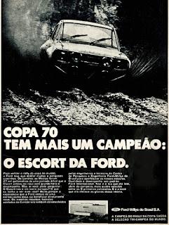 propaganda Ford Scort - 1970, Ford-Willys anos 70, propaganda de carros década de 70, carros anos 70, Oswaldo Hernandez,