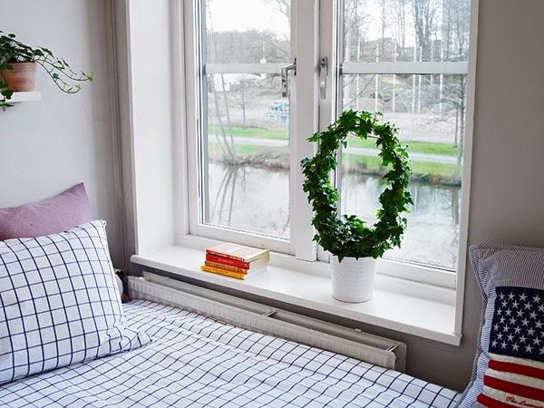 Vista da janela do quarto