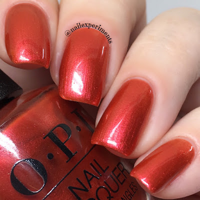 OPI Lisbon Now Museum, Now You Don't swatch