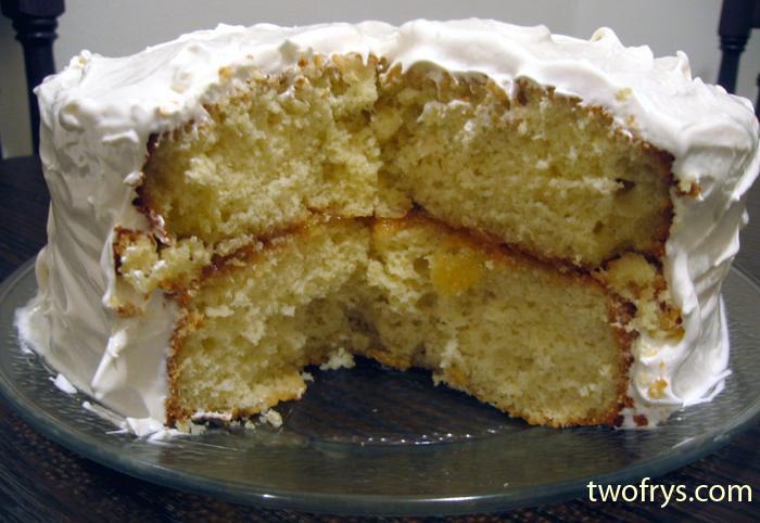 Dominican Pineapple Cake