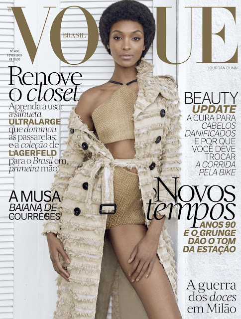 Fashion Model, @ Jourdan Dunn by Zee Nunes for Vogue Brazil, February 2016