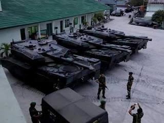 Mantap .. Gelar Latihan Tempur di Natuna, TNI AD Bawa 100 Tank Leopard  - Commando
