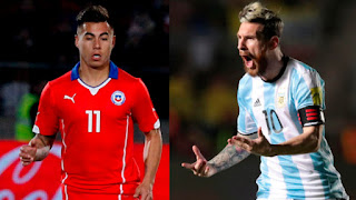 Argentina vs Chile en Eliminatorias Mundial Rusia 2018