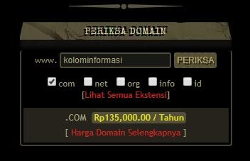cara membeli domain