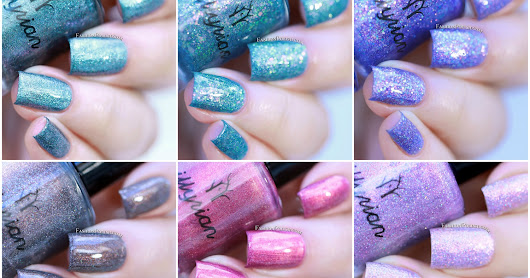 NEW at Color4Nails : Illyiran Polish Spellbound Collection swatches & review!