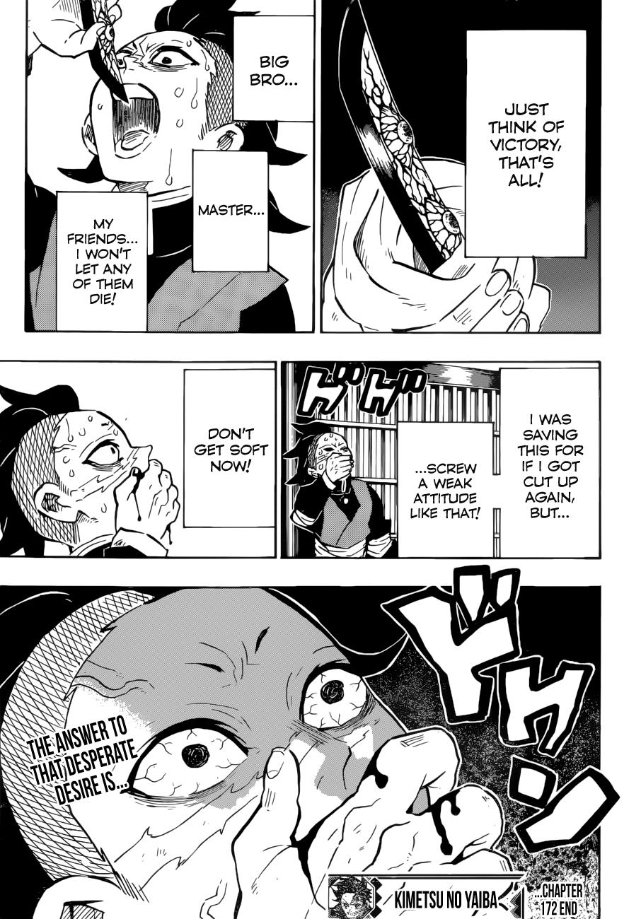 Kimetsu no Yaiba: Chapter 172: The potential of the weak - 第20页