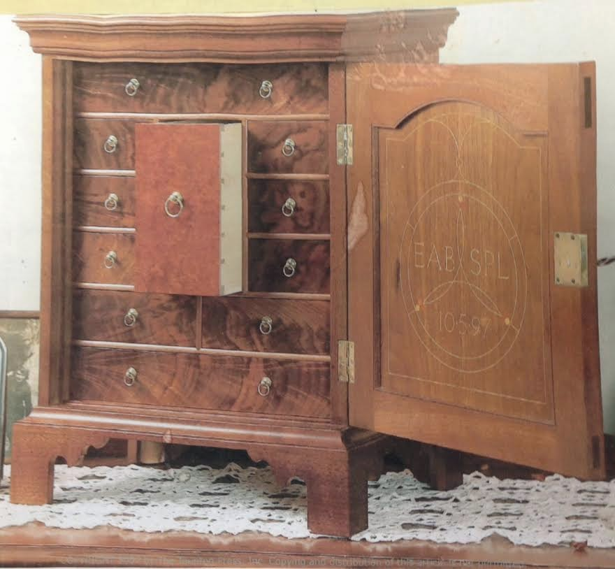 Pennsylvania Spice Box Plans: First Light Woodworking