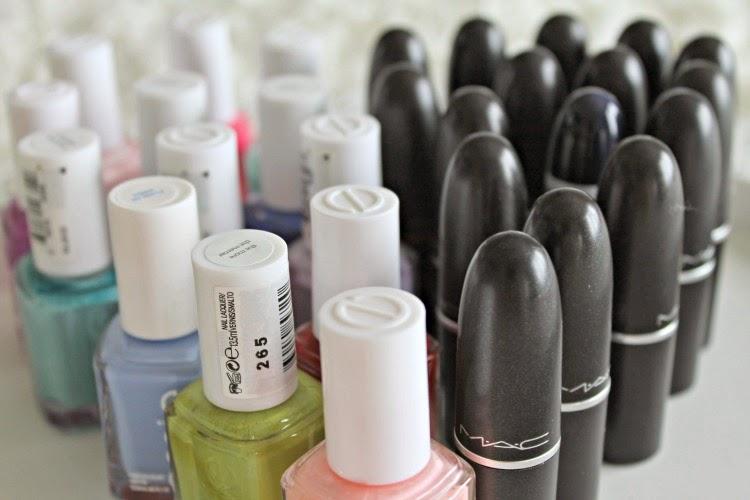 Essie Nail Polishes & Mac Lipsticks