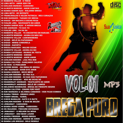 CD BREGA PURO VOL.01 MP3 / 2016