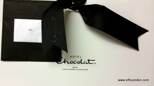 Hotel Chocolat packaging