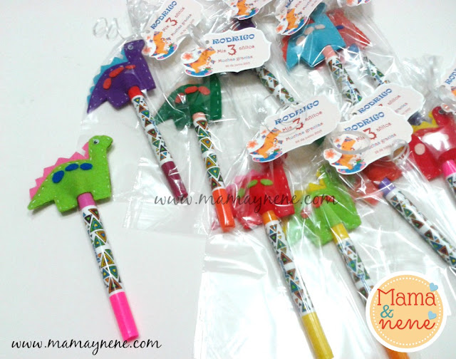 TITERE-DEDO-FINGER-PUPPET-PENCIL TOPPER-REGALO-MAMAYNENE