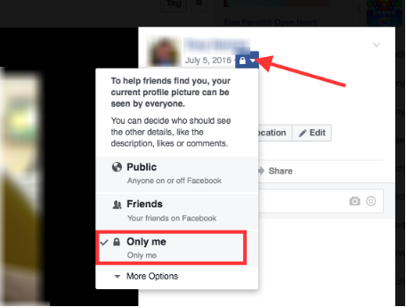 How to make your likes private on facebook