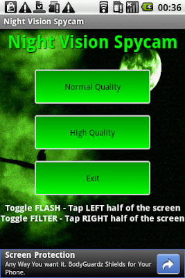FREE APP] Night Vision Spycam - Android Forums at AndroidCentral com