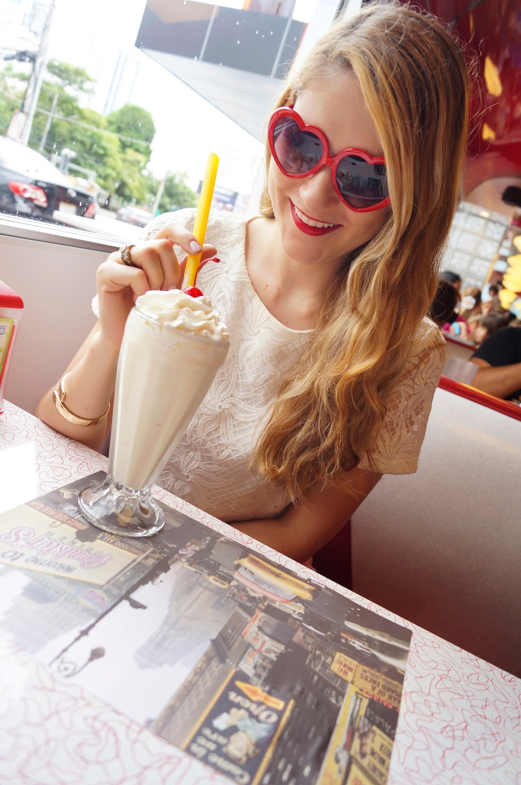 Delicious Milkshake from Roadsters Diner