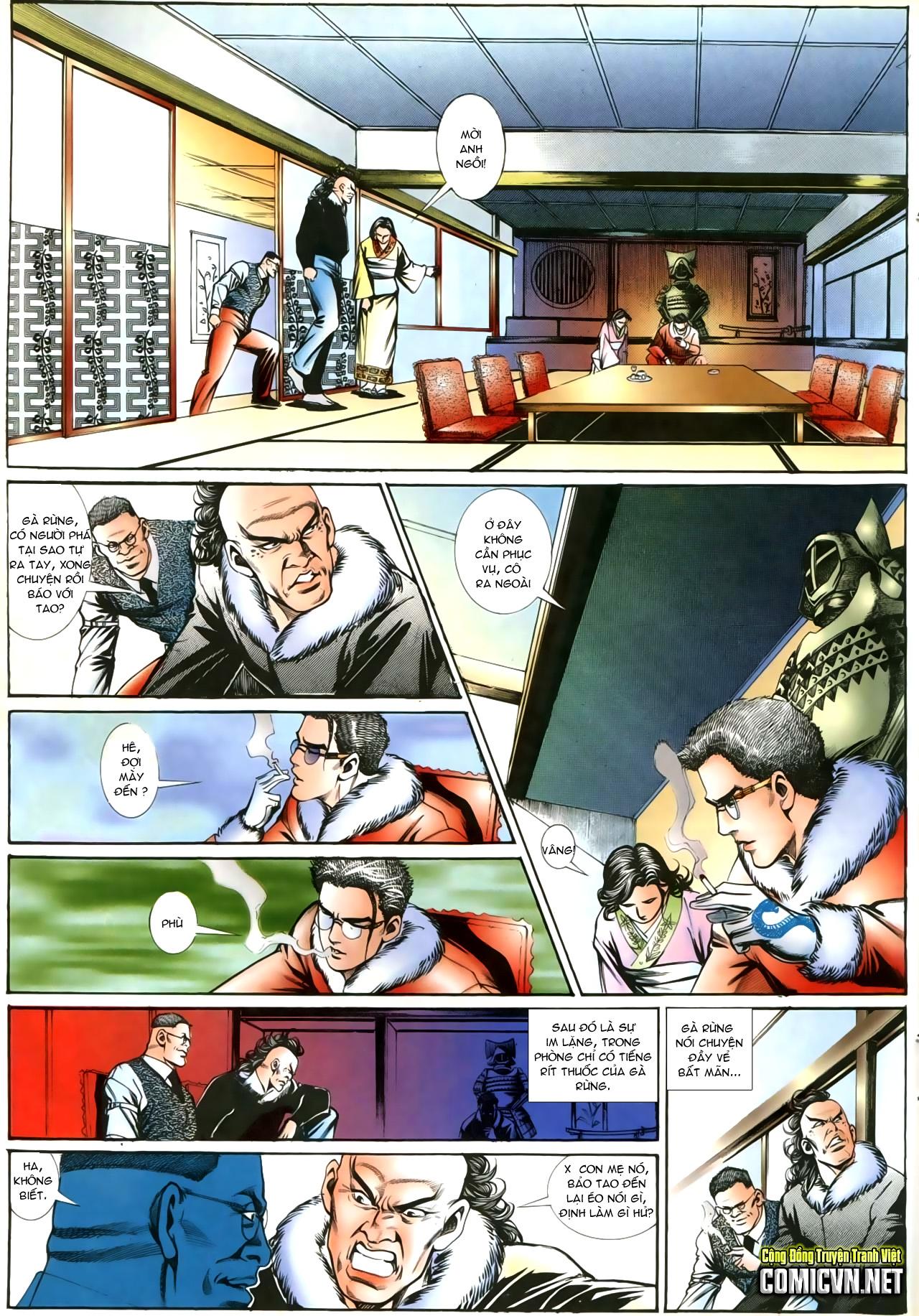 Người Trong Giang Hồ chapter 207: nhật ký đau lòng trang 18
