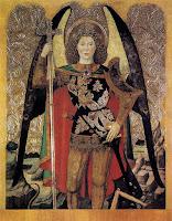 Arcanjo Miguel - Jaime Huguet ~ Gênios da pintura ~ Estilo Gótico