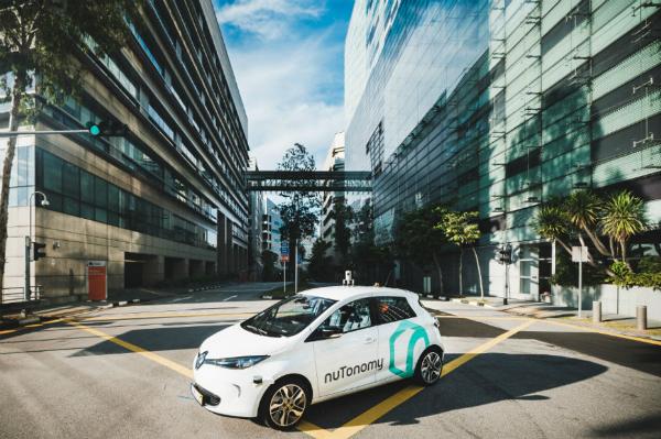 بالفيديو: إنطلاق أول سيارات أجرة ذاتية القيادة