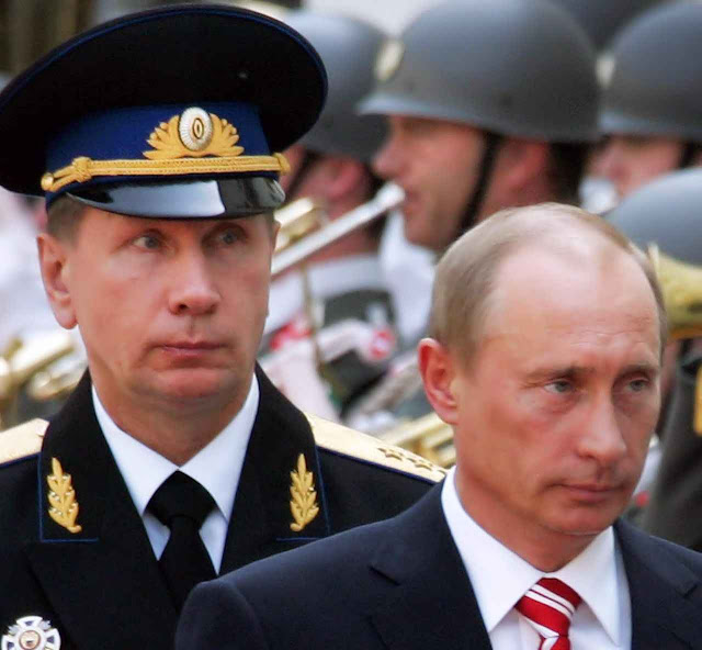 Viktor Zolotov, chefe dos guarda-costas de Putin, será chefe da nova Guarda.