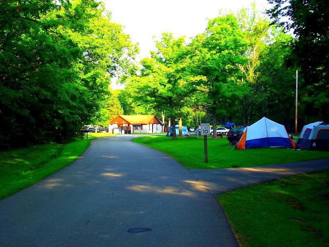 Versailles State Park Campground