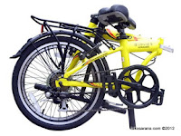 20 Inch FoldX Hokaido 7005 Aluminium Alloy Folding Bike