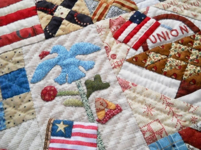 Civil War Quilts: Label For Your Yankee Diary Quilt