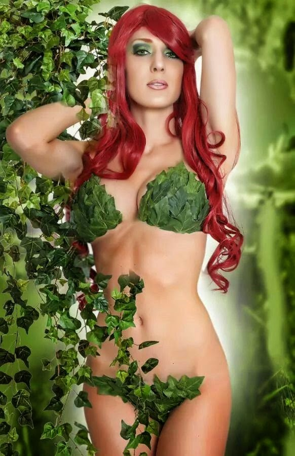 Poison Ivy Cosplay Hot
