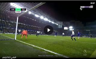 ملخص واهداف فوز تشيلسي على توتنهام 2-0 الاربعاء  27-02-2019 الدوري الانجليزي