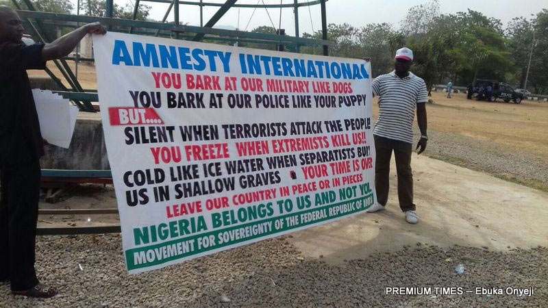 Group orders Amnesty International out of Nigeria