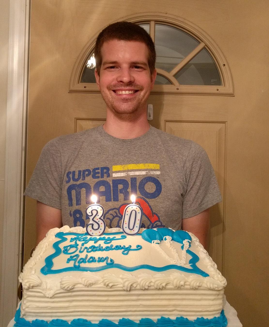 Neko Random Photo My 30th Birthday Cake