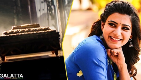 Samantha in deep happiness