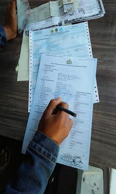 mengisi formulir perpanjangan stnk 5 tahunan atau ganti stnk