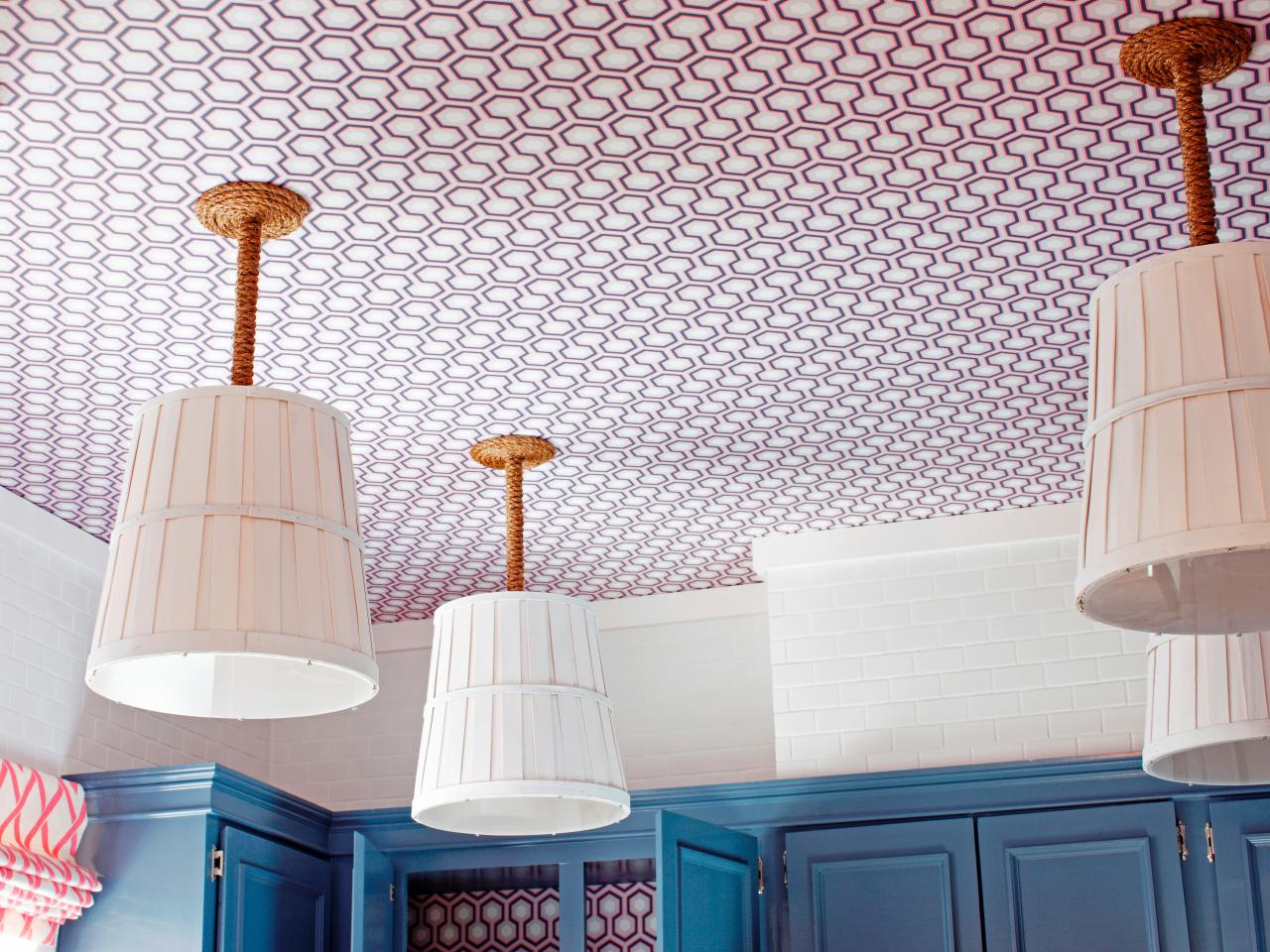 Rope ceiling light