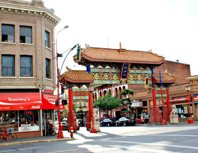 Canada's oldest Chinatown in Victoria, British Columbia