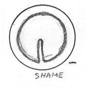Shame Icon Drawing