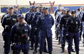Guarda Municipal de Campo Grande (MS) comemora 26 anos de fundação com entrega de medalhas