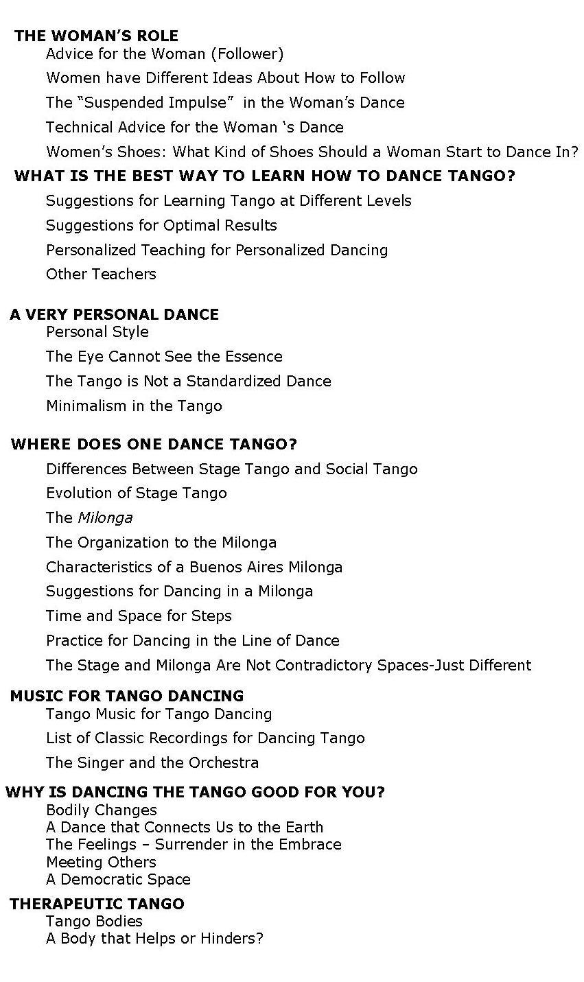 Tips & Secrets for dancing Tango  Lead & Follow