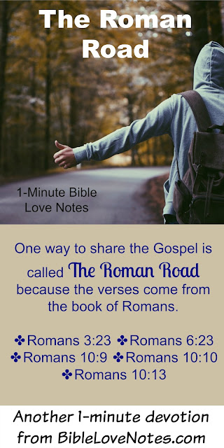 The Roman Road, How to share the Gospel in the Book of Romans, evangelism
