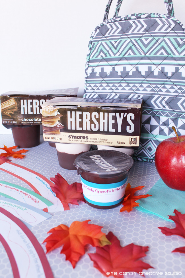 fall lunchbox jokes, Hershey's, lunchbox food ideas, back to school