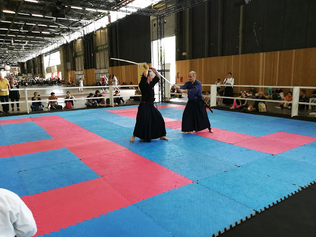 Démonstration Iai Jutsu Yoseikan à la Japan Expo