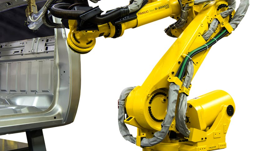 STUAA Automation : The application of FANUC robot in automotive industry